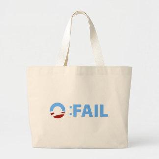 Anti-Obama: Barack Obama versagen Tragetasche