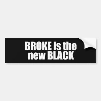Anti-Obama - brach ist das neue Schwarze 2 Autoaufkleber