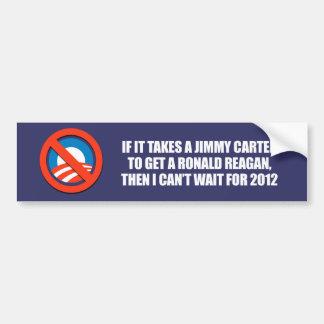 Anti-Obama - es nimmt einen Jimmy Carter, um ein Autoaufkleber