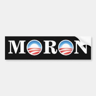 Anti-Obama-IDIOT Autoaufkleber