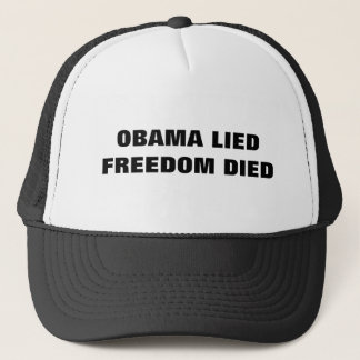 Anti-Obama-Kappe Truckerkappe
