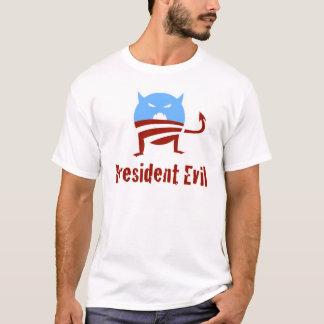Anti-Obama-Präsident Evil T-Shirt