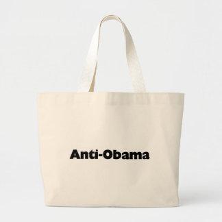 Anti - Obama-T - Shirt- und -geschenkentwurf Jumbo Stoffbeutel