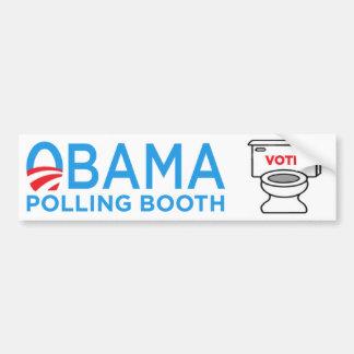 Anti-Obama-Toiletten-Autoaufkleber