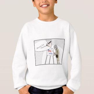 """Anti-Obama-Wähler sagen:  """"Jedermann aber Obama """" Sweatshirt"""