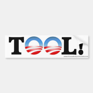"""Anti-Obama""""WERKZEUG"""" Autoaufkleber"""