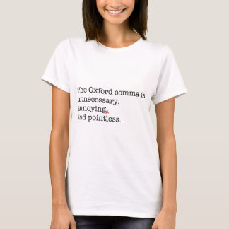 Anti-Oxford Komma T-Shirt