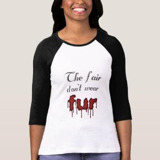Anti-Pelz Tshirts