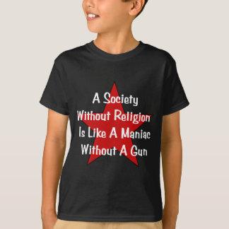 Anti-Religion Zitat T-Shirt