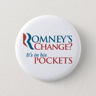 Anti-Romney Button