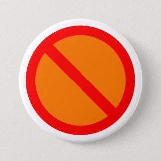 Anti Runder Button 7,6 Cm