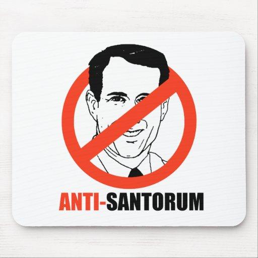 Anti-Santorum Mousepad
