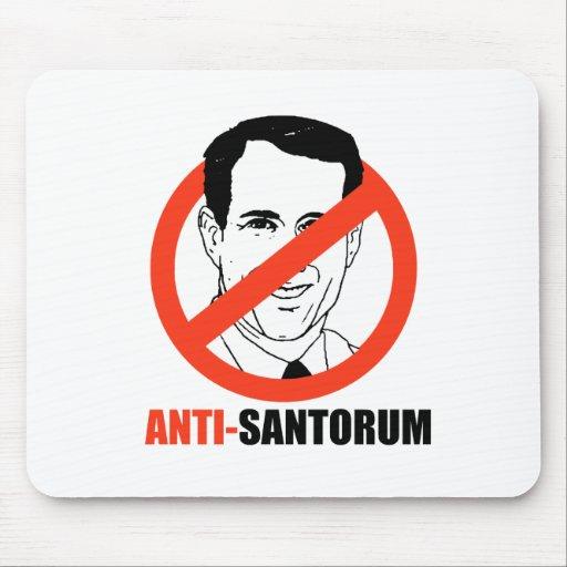 Anti-Santorum Mousepads