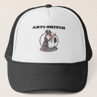 Anti-Snitch kein Ratten-Fernlastfahrer-Hut Truckerkappe