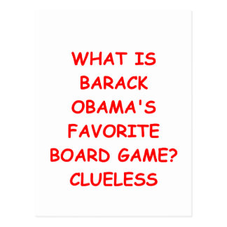 Antibarack obama postkarte