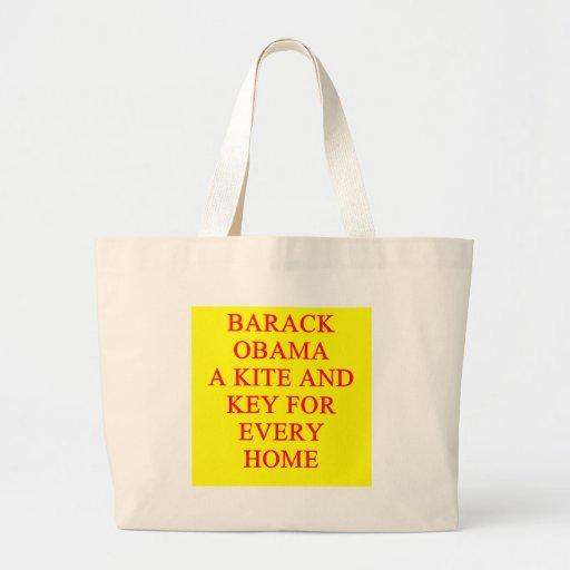 Antibarack obama Witz Tasche