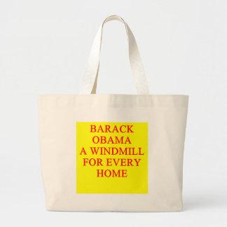 Antibarack obama Witz Tragetaschen
