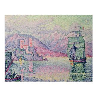 Antibes, Evening, 1914 Postkarte