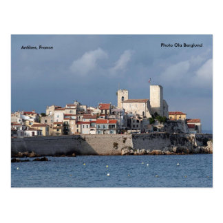 Antibes, Frankreich, FotoOla Berglund Postkarte