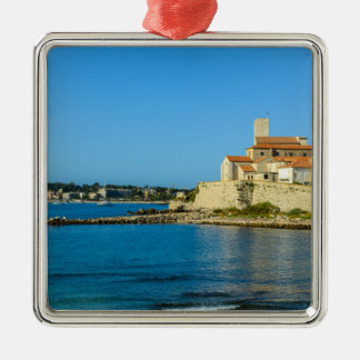 Antibes Frankreich Silbernes Ornament