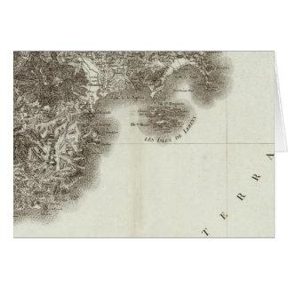 Antibes Karte