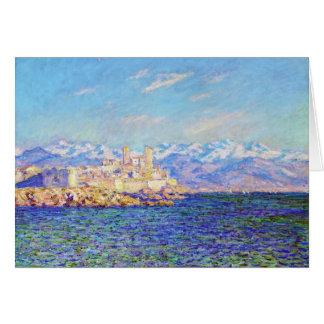 Antibes, Nachmittags-Effekt, Claude 1888 Monet Karte