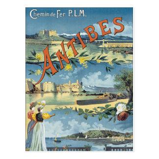 Antibes Postkarte