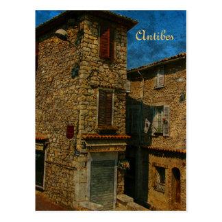 Antibes-Postkarte Postkarte