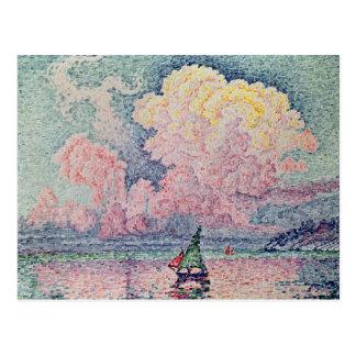 Antibes, rosa Cloud, 1916 Postkarte