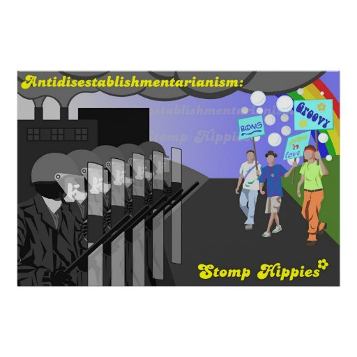 Antidisestablishmentarianism Plakatdruck