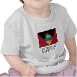 Antigua and Barbuda flag Tshirts