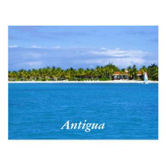 Antigua-Erholungsort Postkarte