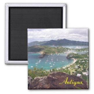 Antigua-Magnet Quadratischer Magnet