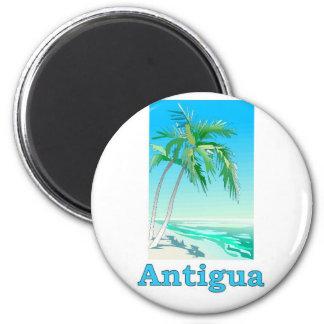 Antigua Runder Magnet 5,1 Cm