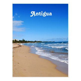Antigua-Strand Postkarte
