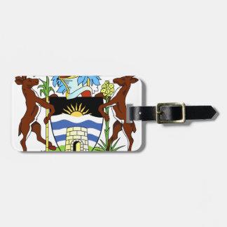 Antigua- und Barbados-Staatsangehörig-Siegel Gepäckanhänger