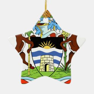 Antigua- und Barbados-Staatsangehörig-Siegel Keramik Ornament