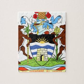 Antigua- und Barbados-Staatsangehörig-Siegel Puzzle