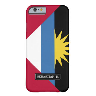 Antigua und Barbuda-Flagge Barely There iPhone 6 Hülle