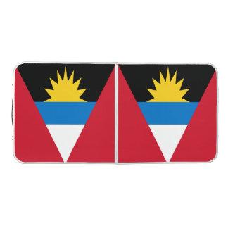 Antigua und Barbuda-Flagge Beer Pong Tisch