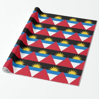 Antigua und Barbuda-Flagge Geschenkpapier