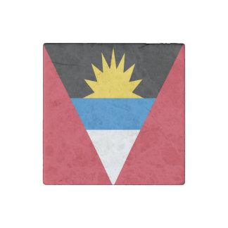 Antigua und Barbuda-Flagge Stein-Magnet