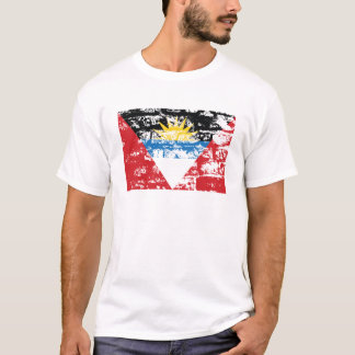 Antigua und Barbuda-Flagge T-Shirt