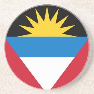 Antigua und Barbuda-Flagge Untersetzer