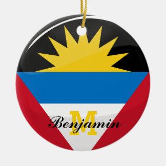 Antigua und Barbuda Keramik Ornament