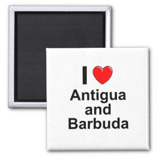 Antigua und Barbuda Quadratischer Magnet