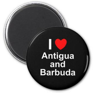 Antigua und Barbuda Runder Magnet 5,1 Cm