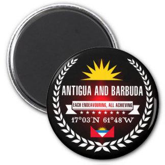 Antigua und Barbuda Runder Magnet 5,7 Cm