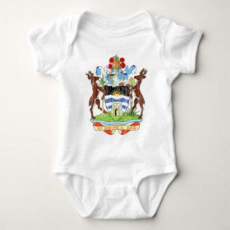Antigua und Barbuda-Wappen Baby Strampler