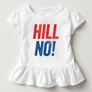 Antihillary-Hügel nein! Kleinkind T-shirt
